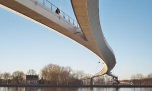 Bridge in Ijburg, Amsterdam.