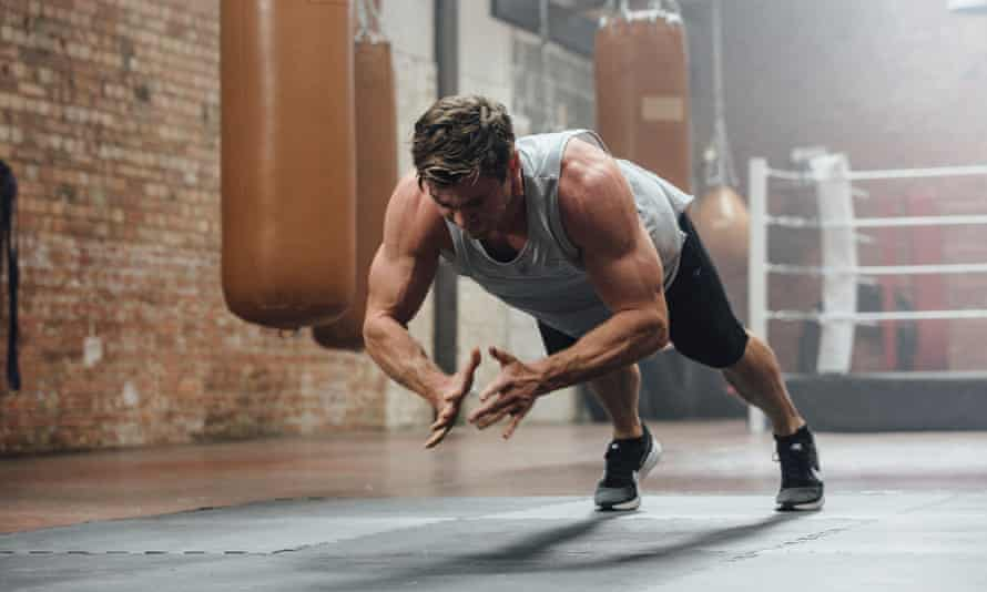 Chris Hemsworth, Loup, Fitness shoot. 15 August 2018. Photo by Greg Funnell