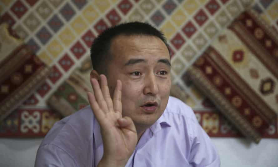 Serikjan Bilash, a prominent activist campaigning against Chinese internment camps, was arrested on Sunday