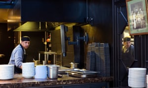 the kitchen at the King's Cross branch of Dishoom.