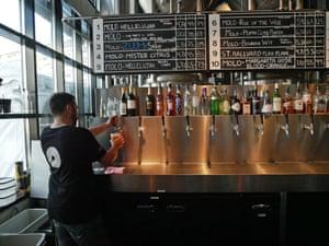 The Molo Brewery bar in Ålesund.