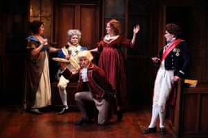 Trial By Laughter at The Watermill Theatre