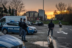 Roadblocks and police checks being enforced in Milan