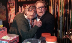 The League of Gentlemen … Steve Pemberton as Tubbs and Reece Shearsmith as Edward in 1999.