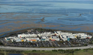 Facebook's campus on the edge of the San Francisco Bay in Menlo Park, California, where Joseph Chancellor currently works.