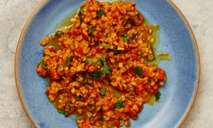 Yotam Ottolenghi's berbere lentils and tomatoes.