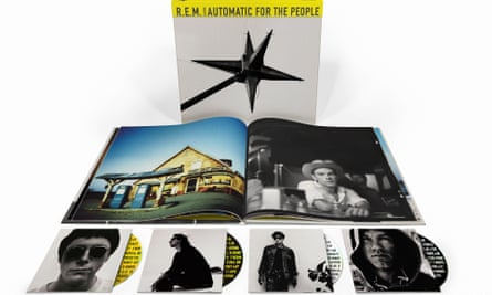 REM album Automatic for the People and companion book
