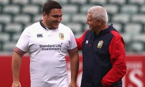 Jamie George and Warren Gatland