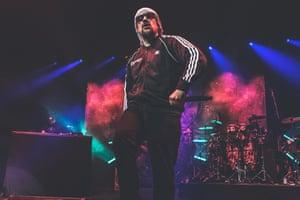 B-Real of Cypress Hill performing at O2 Academy Brixton.