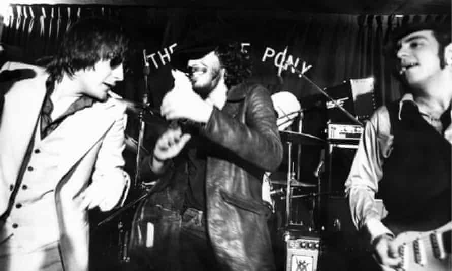 Southside Johnny, Bruce Springsteen and Steve Van Zandt.