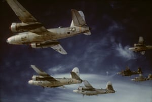 Martin B-26 Marauders of the 441st squadron, 320th bombardment group in 1945