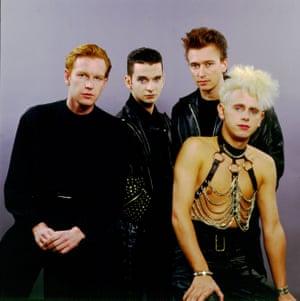 Depeche Mode in Chicago, Illinois, 1987.