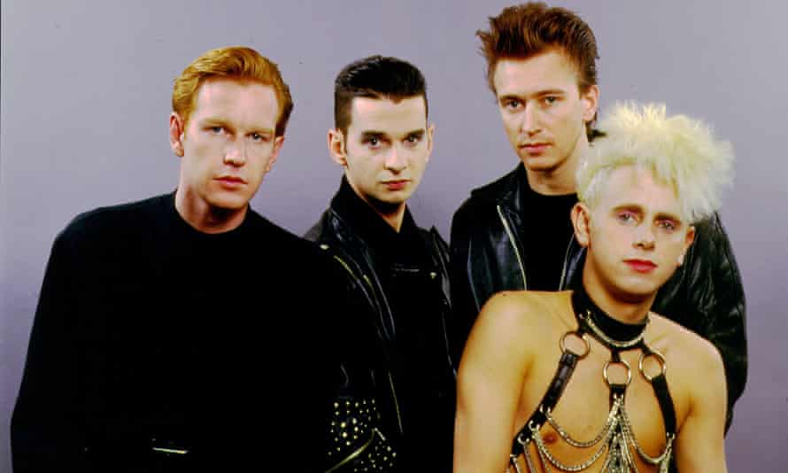 Stadiums here we come: Depeche Mode in the late 1980s.