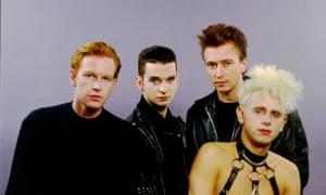 Depeche Mode in 1987.