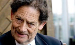 Nigel Lawson, former chancellor