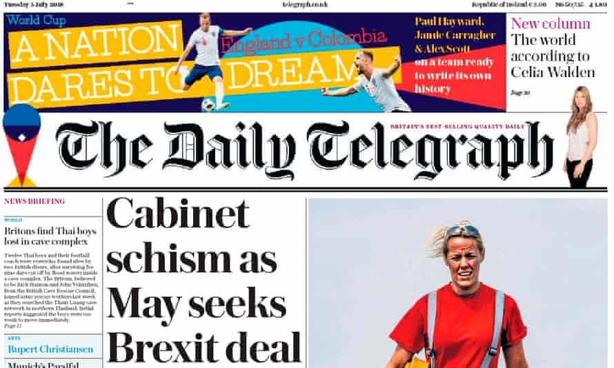 Daily Telegraph - 3 July 2018