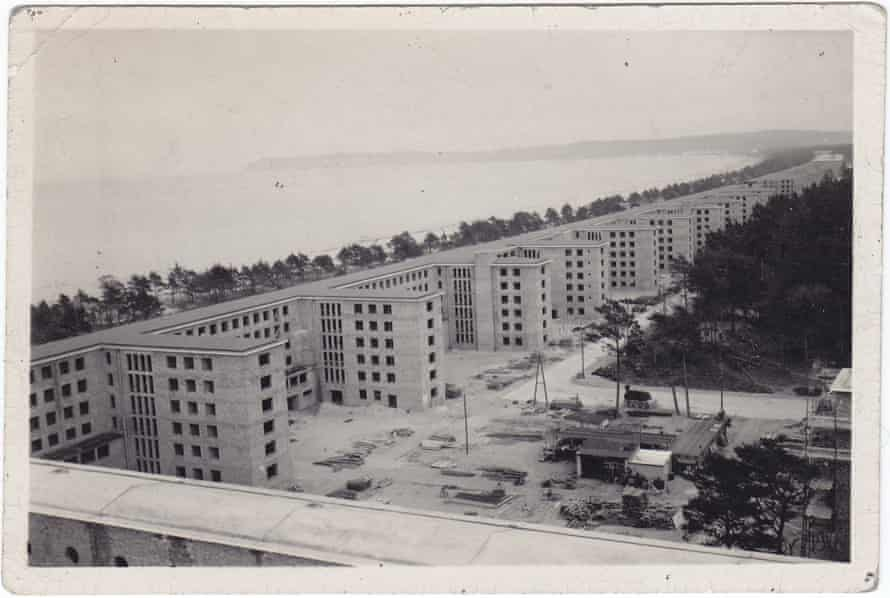 Prora under construction in the 1930s. .