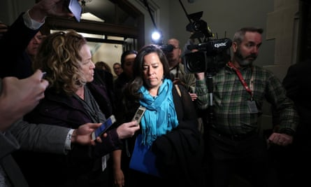 Wilson-Raybould arrives for a Liberal caucus meeting in Ottawa