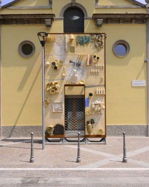 The entrance to Refettorio Ambrosiano.