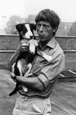 Man's Best Friend 14th September 1971 John Noakes whistles to Shep his television pet