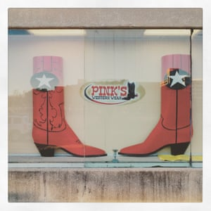Pink's texan boot store, Dallas