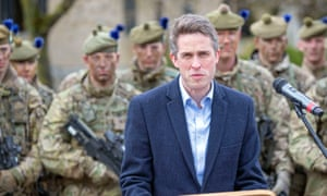 Gavin Williamson announced the UK's plan to open a Centre of Excellence for Human Security.