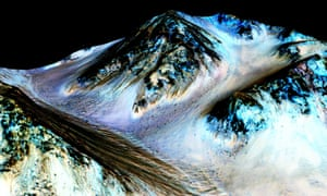 Dark, narrow, long streaks on Mars believed to have been formed by water – it was a busy year for the red planet, both in real life and on cinema screens.