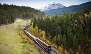 The Rocky Mountaineer train