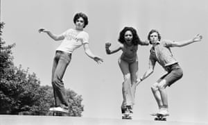 Skateboarding fashion, 6 July 1976.