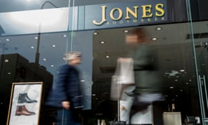 Jones Bootmaker has about 100 shops and 800 employees in the UK.