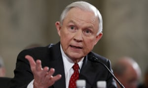 Jeff Sessions said earlier during his confirmation hearing that law enforcement had been 'unfairly maligned' by political leaders in recent years.