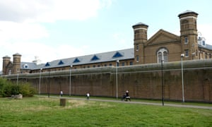 Wormwood Scrubs prison in Shepherd's Bush, west London