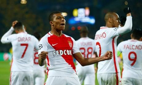 Kylian Mbappe gives Monaco crucial edge against Borussia Dortmund