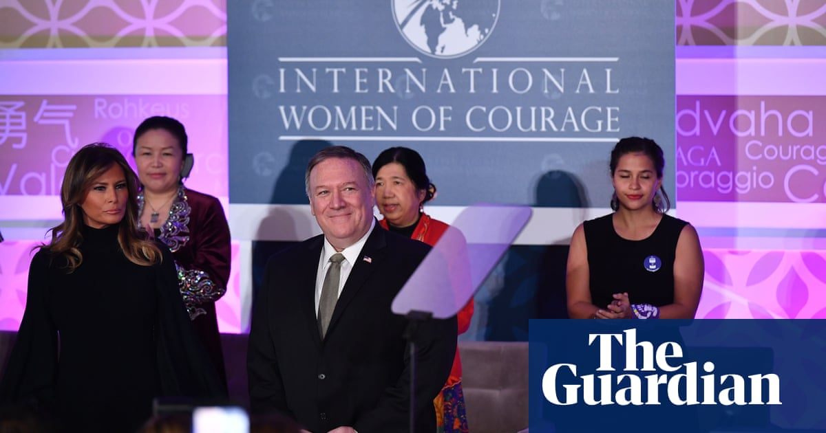 Reporter lost International Women of Courage award for criticising Trump