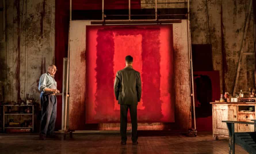 Quasi-religious … Rothko shows Ken one of the Seagram paintings.