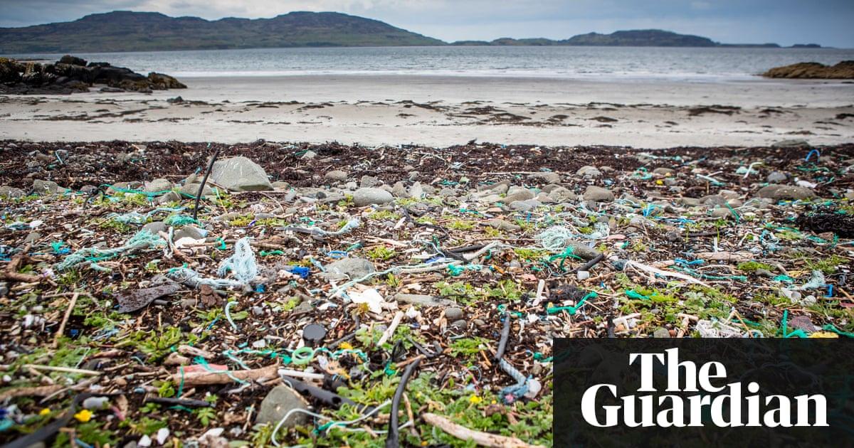 Ocean plastic pollution in Scotland – in pictures