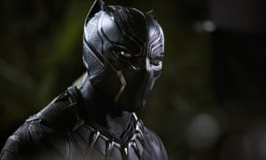 Cool cat … Black Panther has taken £29.5m in the UK.