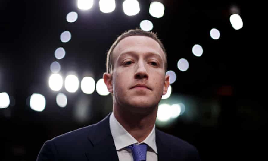 CEO of Facebook Mark Zuckerberg testifies before the Senate.