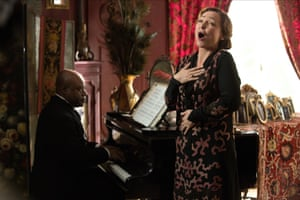 Catherine Frot as Florence Foster Jenkins in Marguerite.