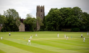 Cricket was played for the first time in months at Richmondshire Cricket Club in Richmond, North Yorkshire, following the easing of lockdown restrictions in England.