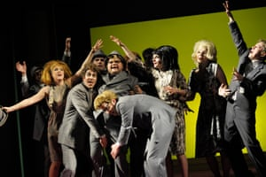 Dieter Roth's farce Murmel Murmel is playing in repertoire at the Volksbühne.