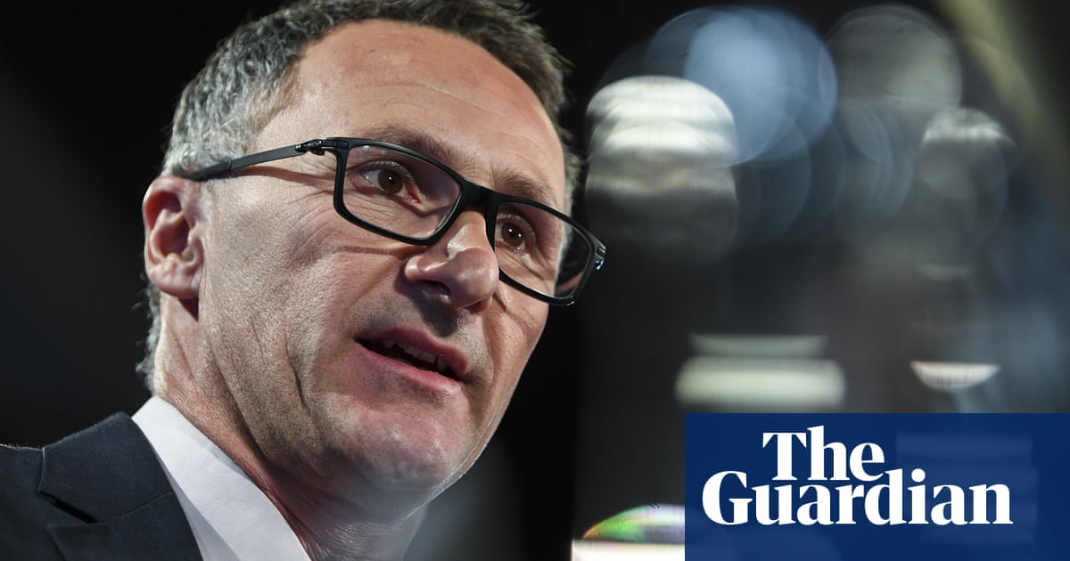 Immagini Natale Hard.Di Natale Says Greens Will Take Hard Line With A Shorten Government