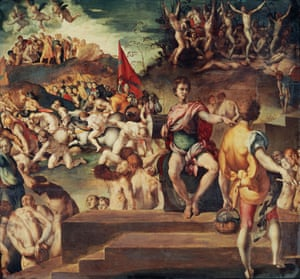 The Eleven Thousand Martyrs, by Jacopo da Pontormo (1494-1557).