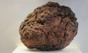 The Wolf Creek meteorite stolen from Crystal Caves museum in north Queensland on Monday.