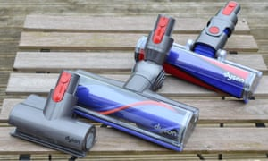 Dyson V8 vacuum cleaner head pieces