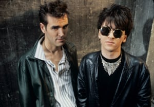 Morrissey and Johnny Marr in 1984.