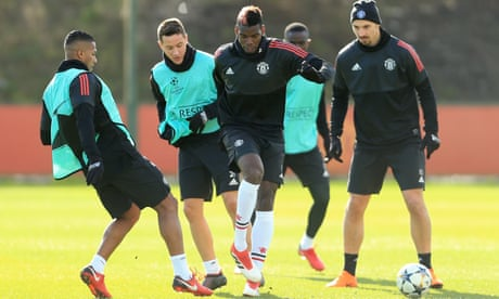 Paul Pogba primed and ready for Manchester United's Sevilla test