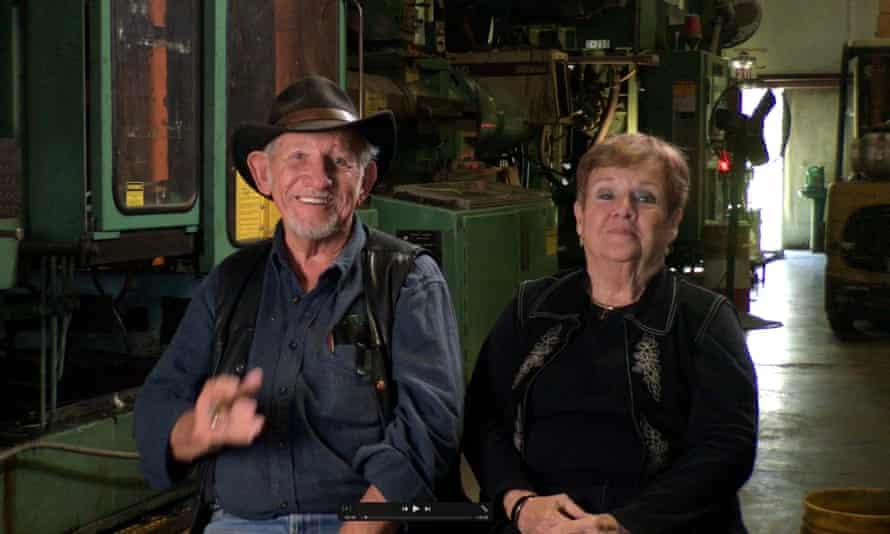 The author's parents.