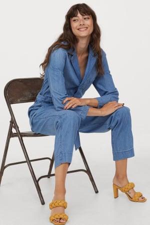 Denim boiler suit, £34.99, hm.com