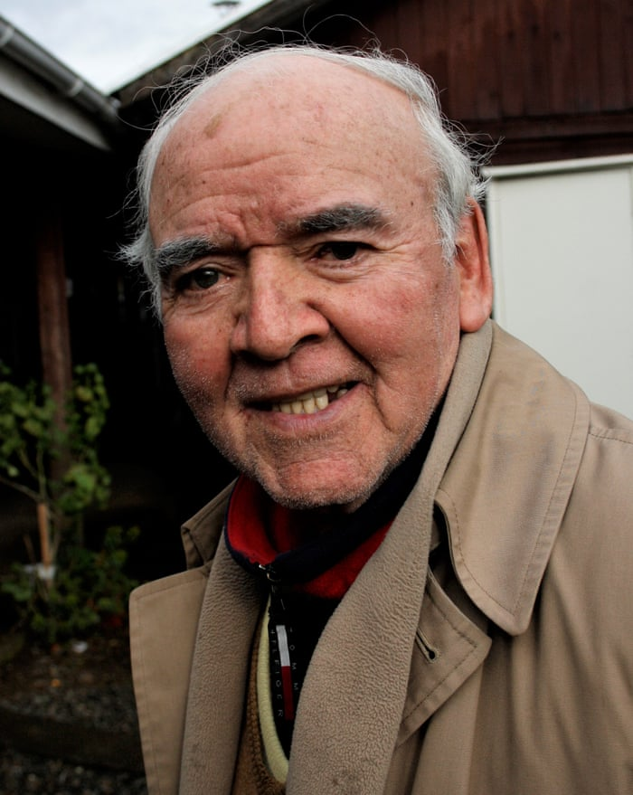 'At last people are starting to wake up in Chile' … Octogenarian journalist Andrés Polinario Sandoval Pineda.